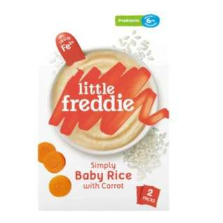 Little Freddie Simply Baby Rice with Carrot (Probiotics)
