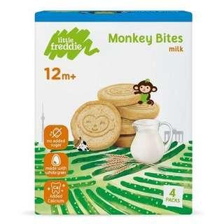 Little Freddie Organic Milk Biscuits