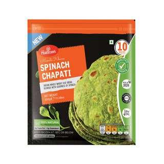 Haldiram's Spinach Chapati - Frozen - By Sonnamera