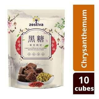 Zestiva Taiwan Brown Sugar-Chrysantemum & Goji Berry