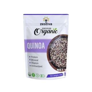 Zestiva Organic Tricolor Quinoa