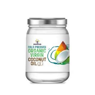 Zestiva Organic Cold Pressed Virgin Coconut Oil
