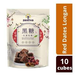 Zestiva Taiwans Brown Sugar Longan Red Dates