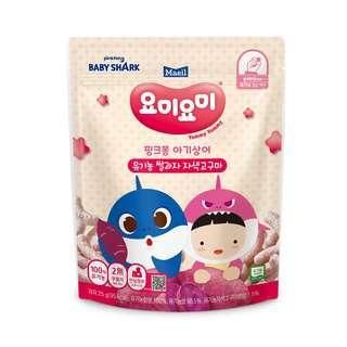 Maeil Organic Rice Snacks - Red Stage 1