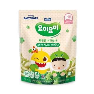 Maeil Organic Rice Snacks -Green Stage 1