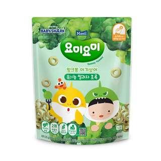 Maeil Organic Rice Snacks -Green Stage 2