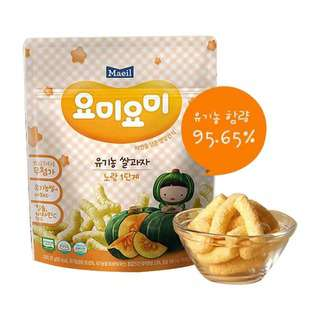 Maeil Organic Rice Snacks - Yellow Stage 2