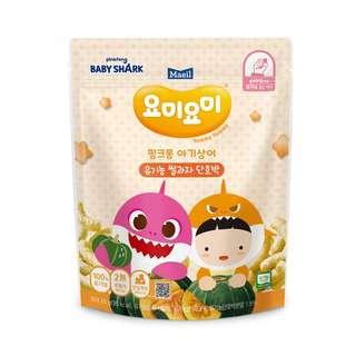 Maeil Organic Rice Snacks -Yellow Stage 1