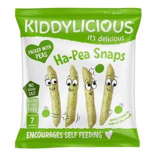 Kiddylicious Ha Pea Snaps Plain