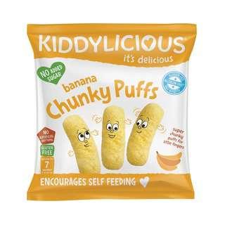 Kiddylicious Chunky Puff - Banana