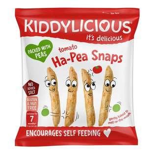 Kiddylicious Ha Pea Snaps Tomato