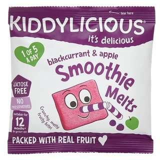Kiddylicious Smoothie Melts Black