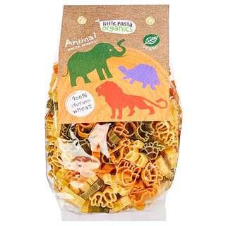 Little Pasta Organic Animal Shaped Pasta - Spinach & Tomato