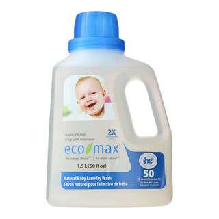 ECOMAX 2X CONC. NATURAL BABY LAUNDRY WASH 1.5L