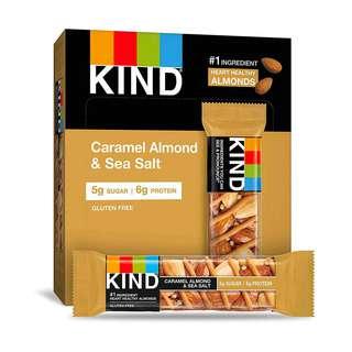 KIND BARS CARAMEL ALMOND & SEA SALT BAR 12S 40G