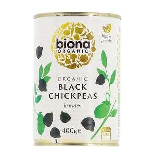 Biona Organic Black Chick Peas