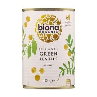 Biona Organic Lentils Green Large