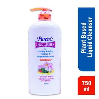 Pureen Liquid Cleanser For Feeding Bottles Nipples Veg - Orange