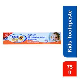 Pureen Kids Fluoride Free Toothpaste - Orange