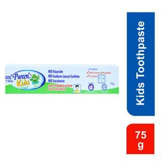 Pureen Kids Fluoride Free Toothpaste - Mint