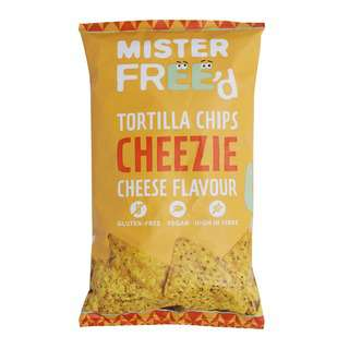 Mister Free'd Cheezie Cheese Flavour Tortilla Chips