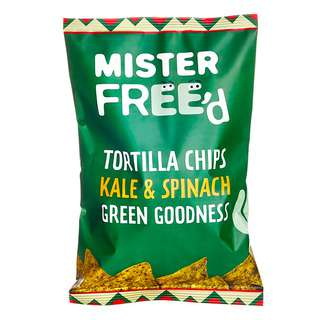 Mister Free'd Gluten Free Tortilla Chip with Kale/Spinach