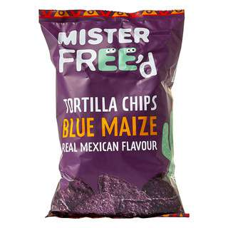Mister Free'd Gluten Free Tortilla Chip with Blue Maize