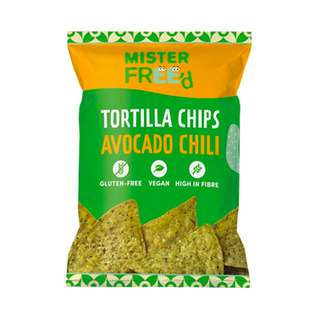 Mister Free'd Avocado Chilli Tortilla Chips, 135g