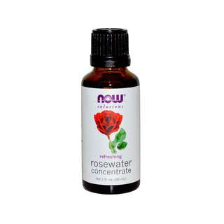 NOW FOODS ROSEWATER CONCENTRATE 1 FLOZ 30ML