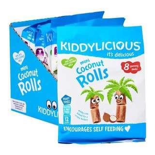 Kiddylicious Mini Coconut Rolls