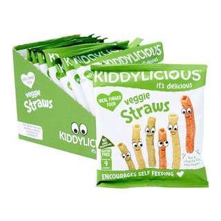 Kiddylicious Veggie Straws