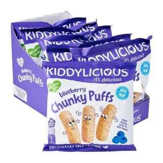 Kiddylicious Chunky Puff - BLUEBERRY