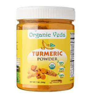 Organic Veda Turmeric Powder 200 Grams / 7 oz