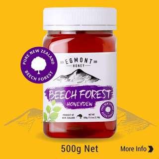 Egmont Beech Forest Honeydew Honey