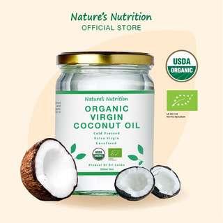 Nature's Nutrition Organic Virgin Coconut Oil