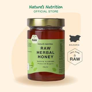 Nature's Nutrition Herbal Honey