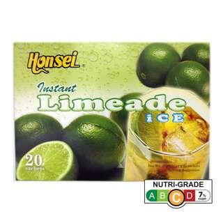 Honsei Instant Ice Limeade Juice (20 Sachets)