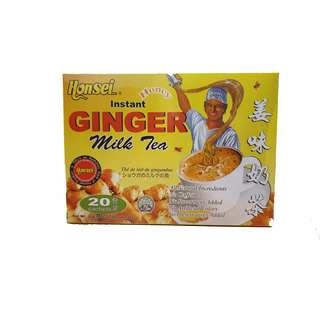 Honsei Instant Ginger Milk Tea - Teh Halia (20 sachets)