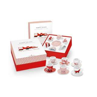 Illy Kit Watermill 6 Cappuccino Cups&Saucers