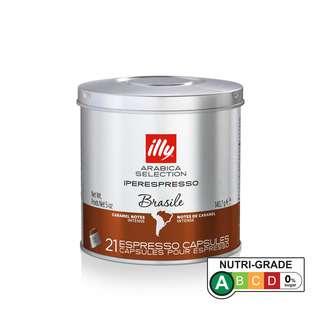 Illy Ipso Coffee Capsule Arabica Selection BRAZIL