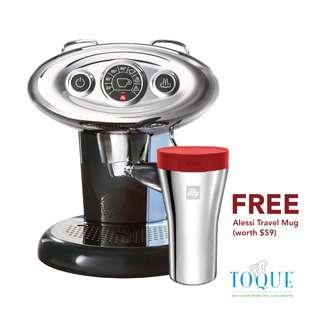Illy Francis Francis X7.1 IPSO Coffee Machine - BLACK