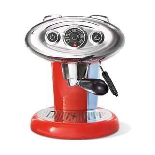 Illy Francis Francis X7.1 IPSO Coffee Machine - RED