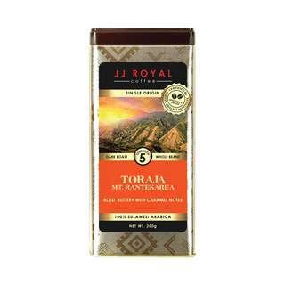 JJ Royal Coffee Toraja 100% Arabica (Bean)