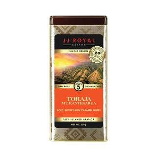 JJ Royal Coffee Toraja 100% Arabica (Ground)