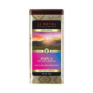 JJ Royal Coffee Papua 100% Arabica (Bean)