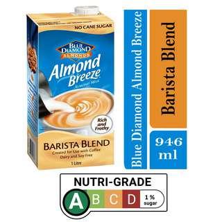 Blue Diamond Unsweetened Almond Breeze Barista Milk