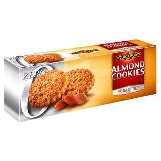 Quickbury Sugarfree Almond Cookies