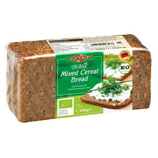 Quickbury Organic Mixed Cereal Bread