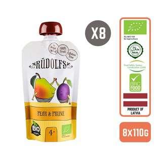 Rudolfs Organic Pear & Prune x8
