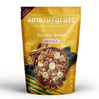 Amazin' Graze Banana Bread Granola 250g